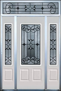 Traditional cut glass can be used in most residential, religious, or commercial window and door configurations. SGO offers a full range of clear and colored glass design options for any traditional cut glass project.